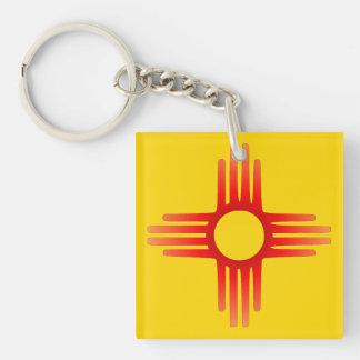 Zia Sun Symbol Keychain