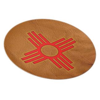 Zia Sun Symbol Party Plates