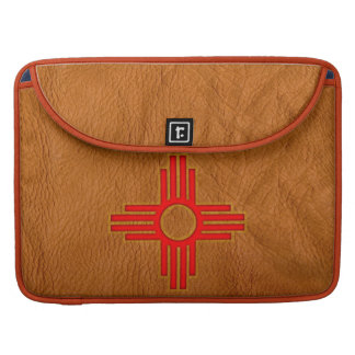 Zia Sun Symbol Sleeve For MacBook Pro