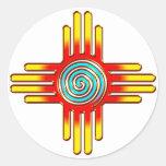 Zia Sun - Zia Pueblo New Mexico -