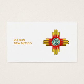 Zia sun - Zia Pueblo - New Mexico Business Card