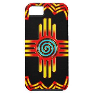 Zia sun - Zia Pueblo - New Mexico iPhone 5 Case