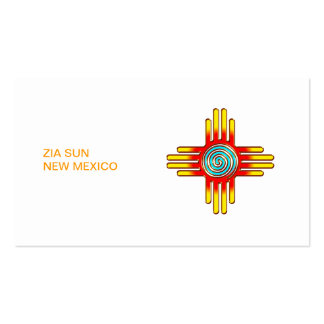 Zia sun - Zia Pueblo - New Mexico Double-Sided Standard Business Cards (Pack Of 100)