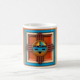 Zia SunFace Classic White Coffee Mug