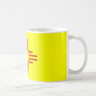 Zia Vintage Classic White Coffee Mug