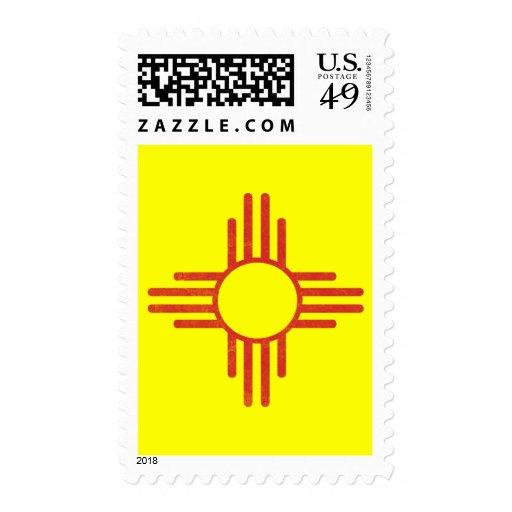 Zia Vintage Postage Stamp