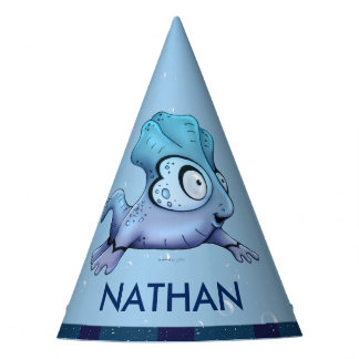 ZIBOU CUTE ALIEN MONSTER CARTOON Party Hat