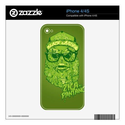 zica iPhone 4 skins