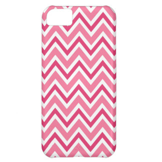 Zickzack Fall iPhone Muster des rosa weißen Zickza Cover For iPhone 5C