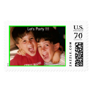 zidellstamp2, Let's Party !!! Postage