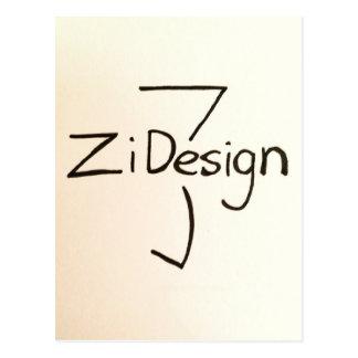 ZiDesign Postcard