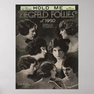 Ziegfeld 1920-Hold Me Poster