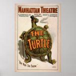 ZIEGFELD'S The TURTLE Play VAUDEVILLE Poster