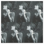 Ziegfield girl Gloria Swanson art deco Fabric