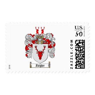 Ziegler Coat of Arms / Ziegler Family Crest Postage