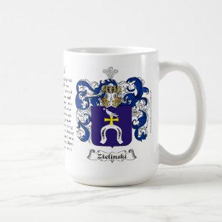 Zielinski, el origen, el significado y el escudo taza