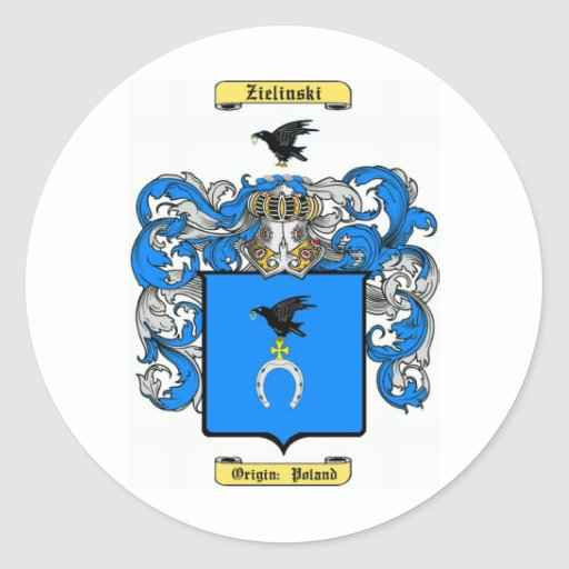 Zielinski Etiquetas Redondas