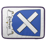 Zielwer Family Crest Sleeve For MacBook Pro