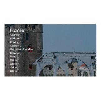 Zierikzee, Zeeland, Netherlands Double-Sided Standard Business Cards (Pack Of 100)