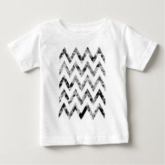 Zig saw Print - black prints blank Black White Baby T-Shirt