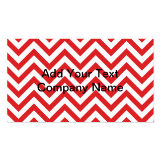 Zig Zag Double-Sided Standard Business Cards (Pack Of 100)