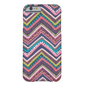 Zig Zag Chevron Barely There iPhone 6 Case