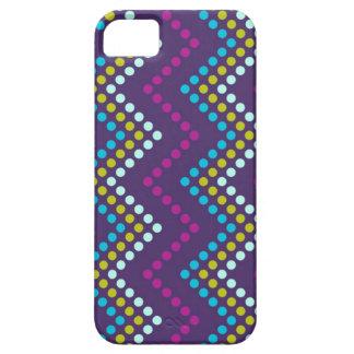 Zig Zag Dot Metro iPhone SE/5/5s Case