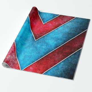 zig zag Grundge Design Wrapping Paper