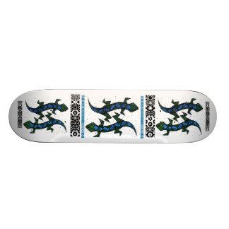 ZIG ZAG lizzard Skateboard Deck