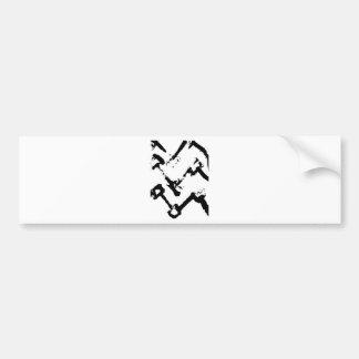 zig-zag match sticsk's bumper stickers