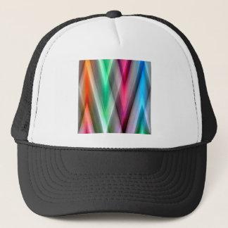 Zig Zag pattern colored created by Tutti Trucker Hat