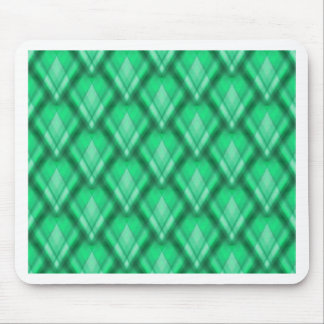 Zig Zag Pattern lightgreen created by Tutti Mouse Pad