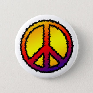 Zig Zag Peace Button