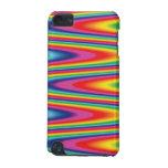 Zig Zag Psychedelic Rainbow Pattern