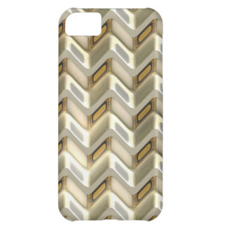Zig Zag Shimmer Cover For iPhone 5C