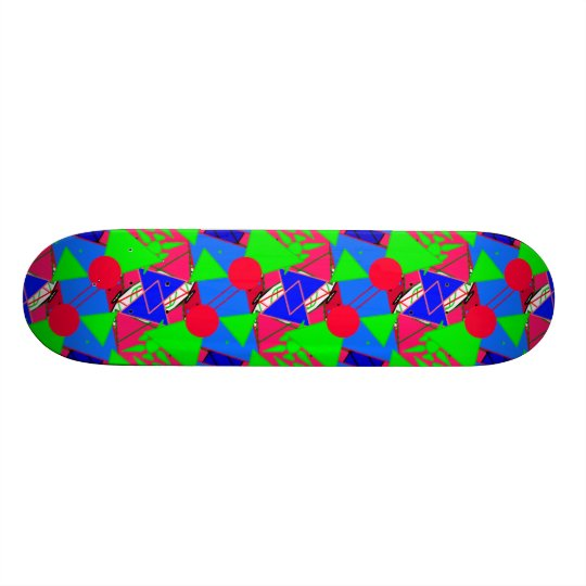 Zig-Zag Skateboard