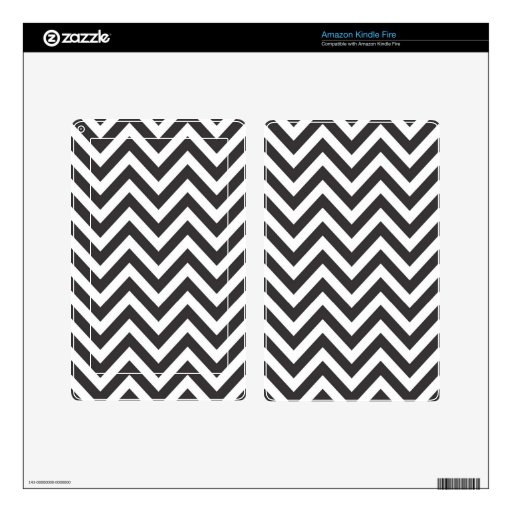 Zig Zag Striped Pattern Zazzle Template Background Kindle Fire Decals