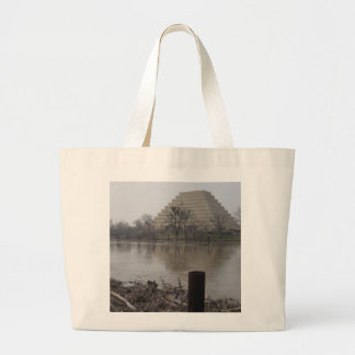 Ziggurat Building Tote Bag