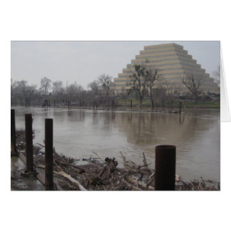 Ziggurat Building Card