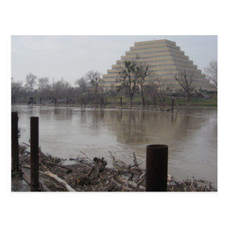 Ziggurat Building Postcard
