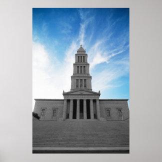 Ziggurat masónico póster