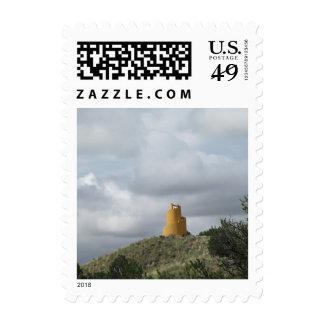 Ziggurat Postage Stamp