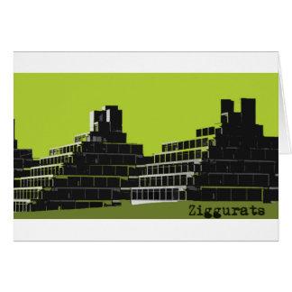 Ziggurats Card
