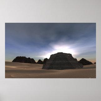 Ziggurats on Arak Poster