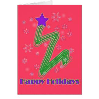 Ziggy Tree Card