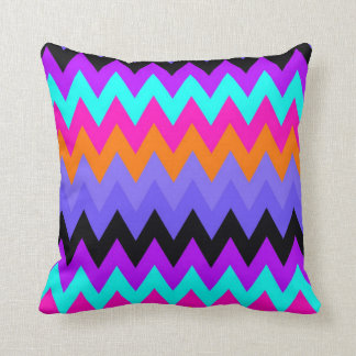 Zigzag #9 - Colourful Pillow