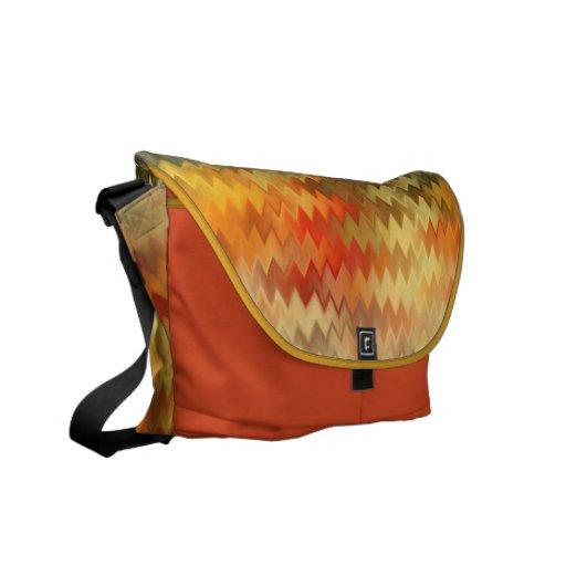 zIGzAg ABSTRACT ART BAG Messenger Bag