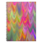 Zigzag Abstract Notebook