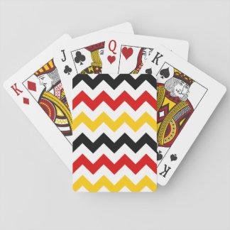 Zigzag alemán 2 cartas de póquer