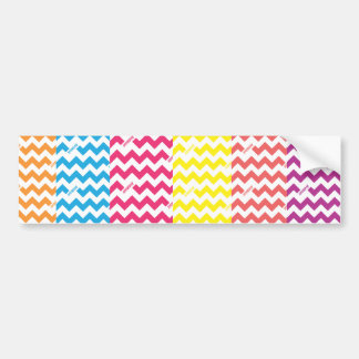 ZigZag All Bumper Sticker